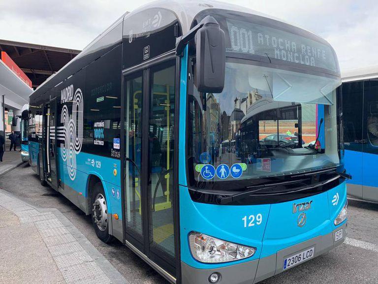 Madrid estrena la Línea Cero de autobuses
