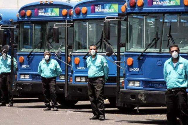 El transporte en autobús y la cuarentena